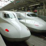 東海道新幹線のぞみ(N700系)の充電用コンセント位置