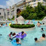 サンバレー那須に宿泊&アクアヴィーナスのプールで子供も大満足(小雨の日でも)!