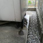 貯湯タンクからの水漏れ