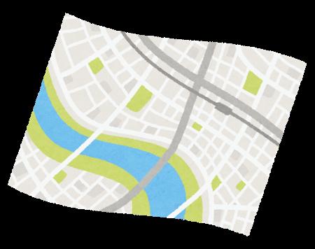 都市計画図 用途地域